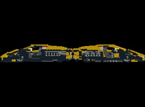 Lamborghini Diablo VT 6.0 cutaways