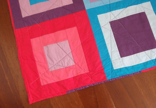 QUILT - Three Squared (binding)