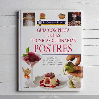 Técnicas culinarias. Postres