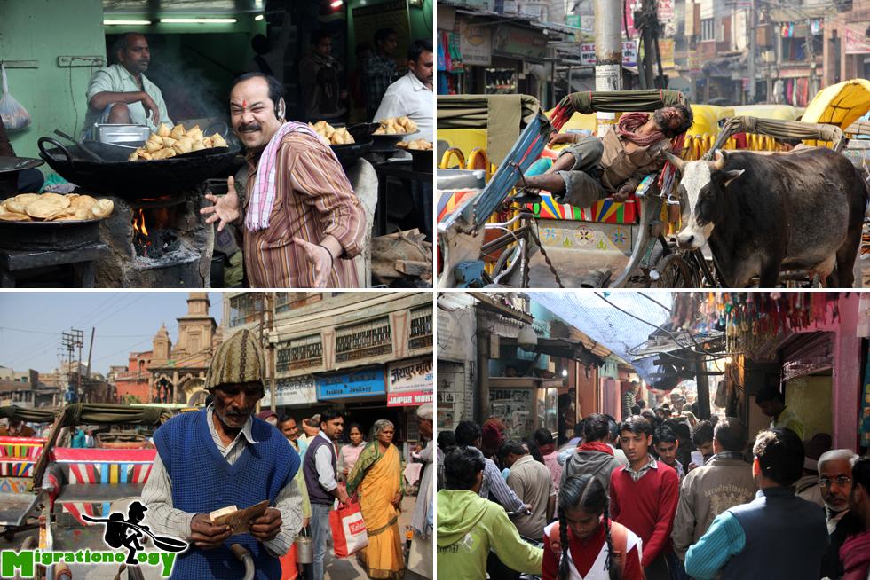 Exploring the streets of Varanasi, India