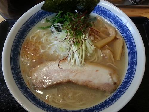 ra130417麺屋 頂 中川會 芳香塩らーめん