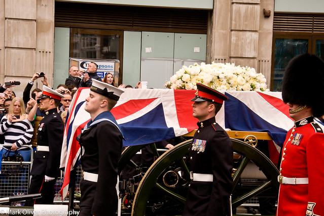 The Funeral of Baroness Margret Thatcher