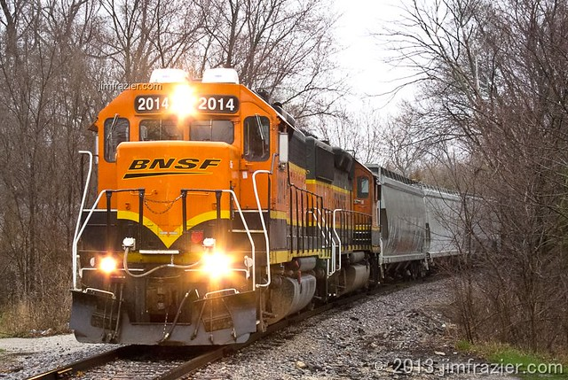 BNSF 2014 in Batavia, Illinois