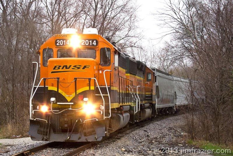 BNSF 2014 in Batavia, Illinois