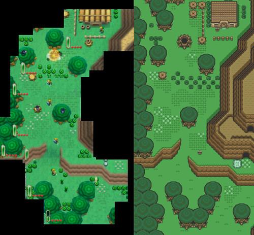 Link to Past Comparação