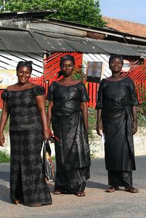 Three Black Ladies