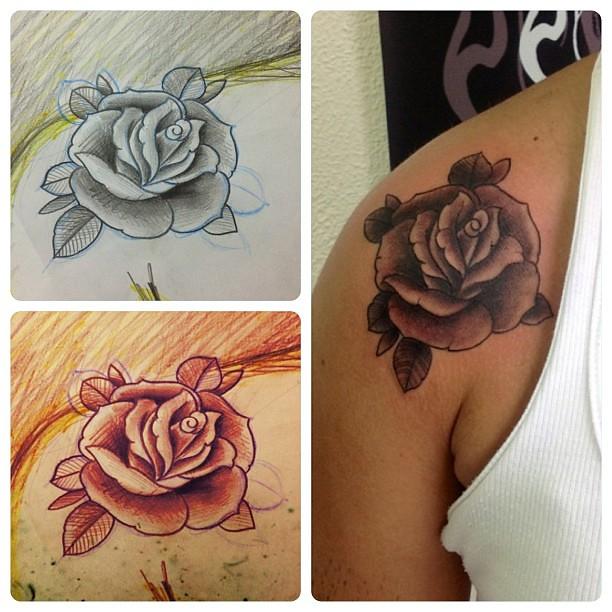 Rose Desenhos Tattoo Rosa Edu Lima Flickr