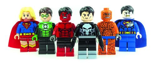 You can't have enough Super Heroes ;-) by LaPetiteBrique.com