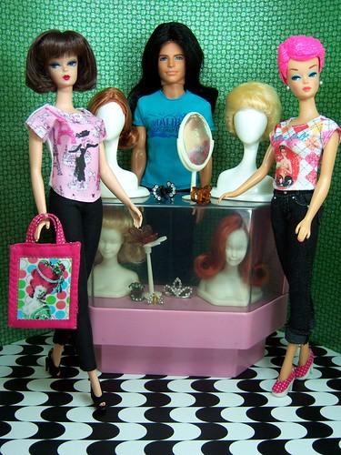 Wigs, wigs, wigs... by Sartoria Gigi