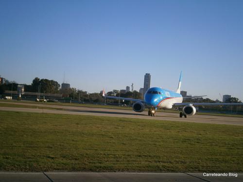 Embraer 190 LV-CPJ de AU
