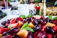 fruit salad prepared for party