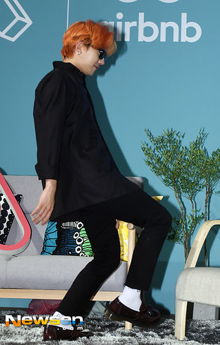 G-Dragon - Airbnb x G-Dragon - 20aug2015 - Newsen - 10