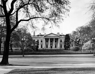White House Exterior, North Portico, 03/28/1948