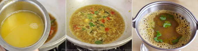 Paruppu Rasam Recipe - Step3