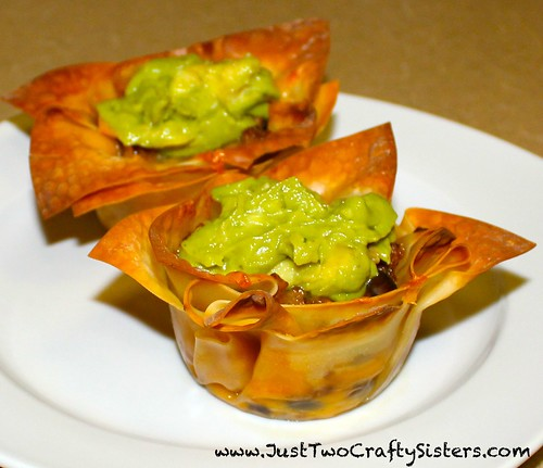 Taco Cupcakes Appetizer - Yum!!