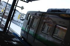 江差駅、キハ40