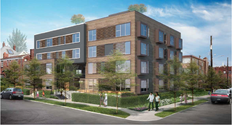 Image gallery 4 apartment buildings for 3 story apartment building design