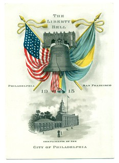 Liberty Bell souvenir card1