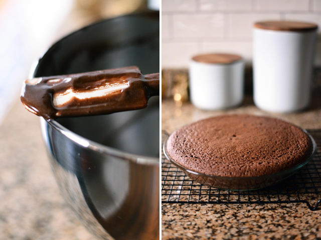 making-brownie-pie