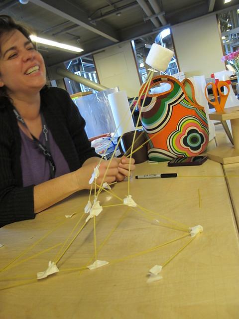 Marshmallow And Spaghetti Challenge The Tinkering Studio