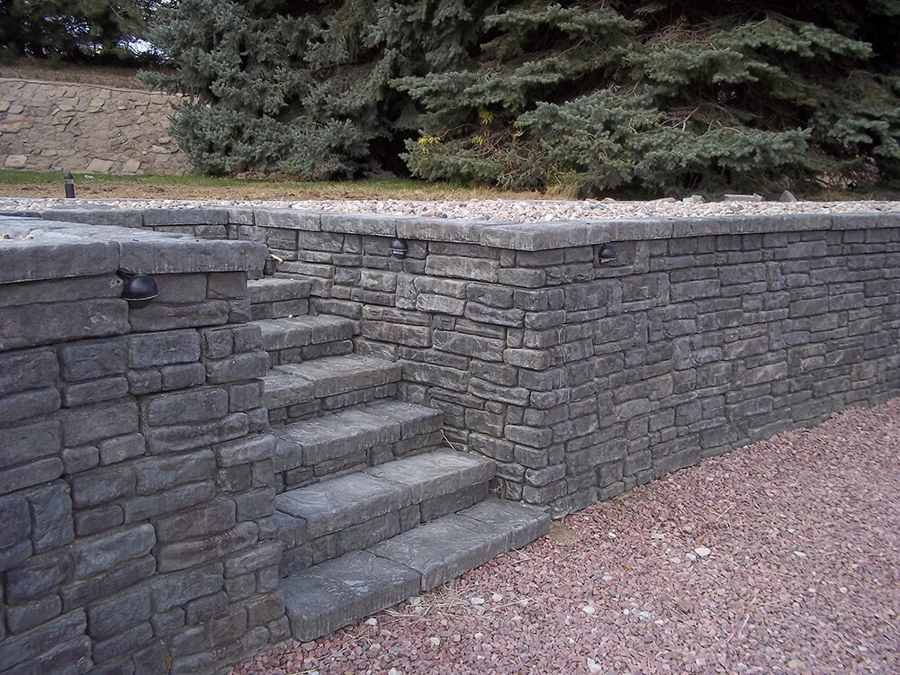 Stone Wall Blocks : Top block llc retaining wall blocks