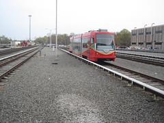 DC Streetcar in Greenbelt Yard