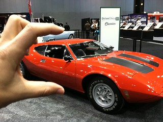 I crush the AMC AMX/3 concept car