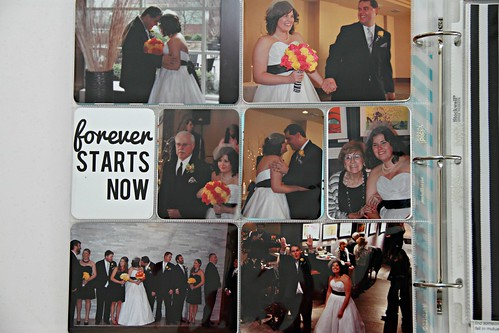 Project Life: The wedding