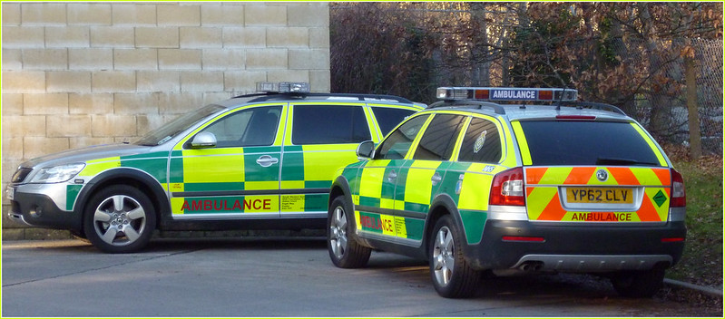 South Western Ambulance YP62CLV