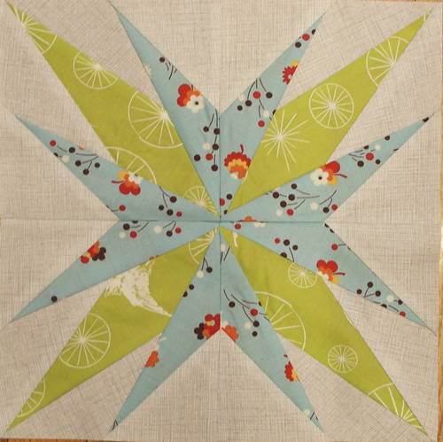 February Lucky Stars Block of the Month