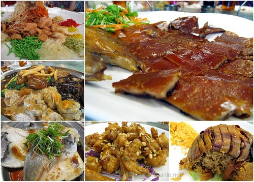 Suanie's Chinese New Year 2013 - feast