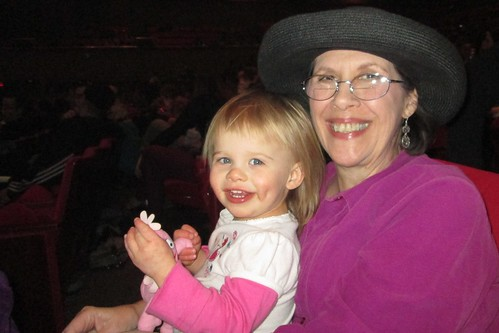 Lucy and Mimi at Yo Gabba Gabba Live