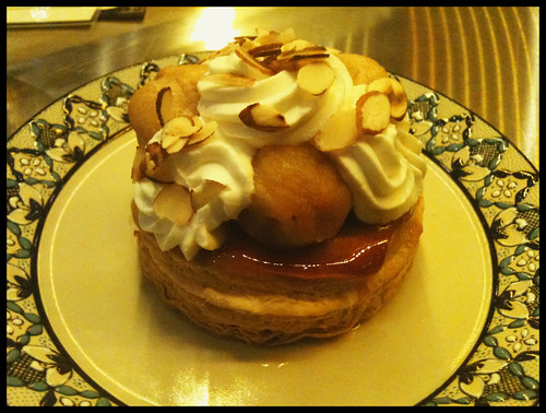 Caramel Apple St. Honore