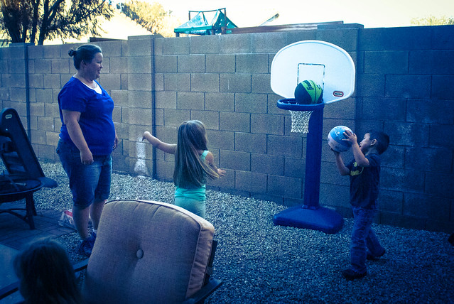 Hoops with Auntie Jess