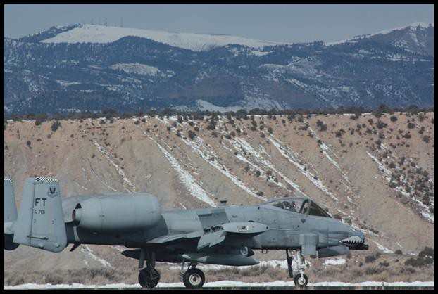 Air Force A-10 jet makes emergency landing in Price ...