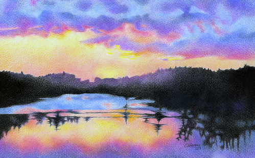 flickr the colored pencil landscapes pool
