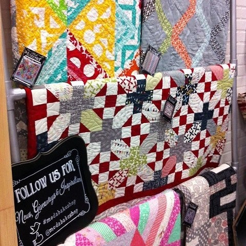 """'Nough Said"" is at Quiltcon"