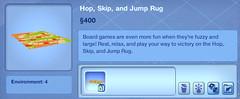 Hop, Skip, and Jump Rug
