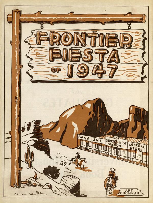 Frontier Fiesta program 1949