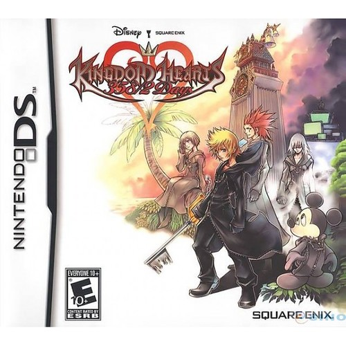 Kingdom Hearts 358/2 Days (+WinDSPro 2013) (Español) (NDS) (MG/UL/DF)
