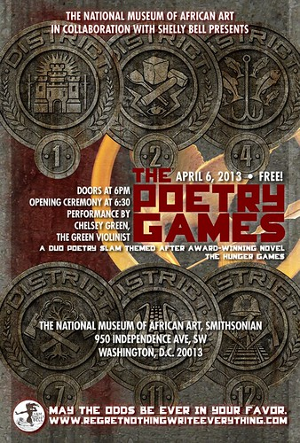 The Poetry Games flyer