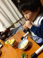 晩御飯 2013/2/23