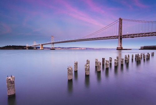 california longexposure sunset sky night canon landscape eos bay twilight waterfront treasureisland dusk clear baybridge embarcadero mk2 5d lowtide sanfransisco dreamscape waterscape projectweather copyrightmarkldodge