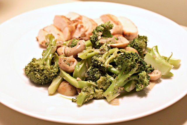 Perfecting the Pairing: Broccoli and Mushroom Sauté