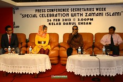 Zamani SLAM Secretaries Week