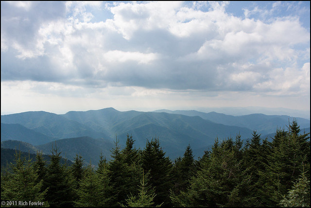 Mt. Mitchell--Views From the Observation Deck