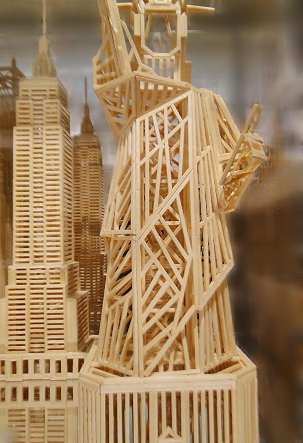 Matchitecture Building Set.  Statue of Liberty  FAO Schwarz 5th Avenue 8 26fb13_428