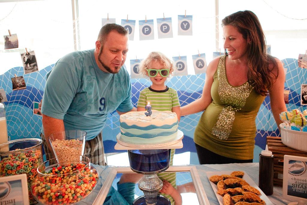 Brayden's Under the Sea Birthday Party-36