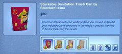 Stackable Sanitation Trash Can by Standard Issue