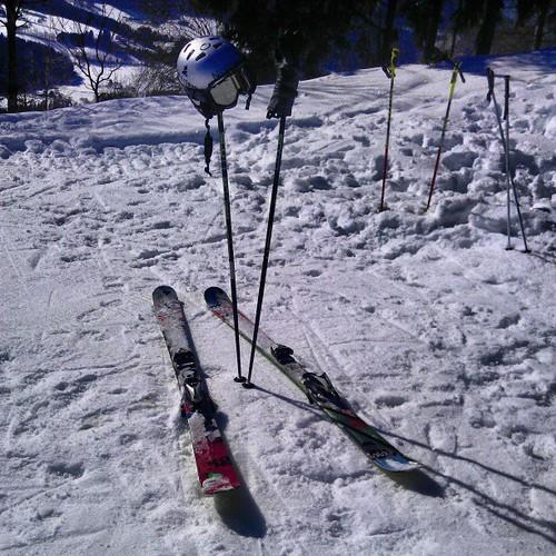Ski & Hut #skiing